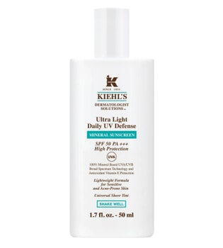 Kiehl's Ultra Light Daily UV Defense Mineral Sunscreen SPF 50 50 ml