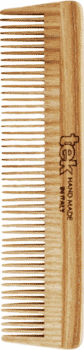 TEK Medium sized wooden comb with fine teeth