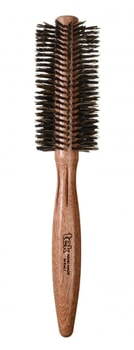 TEK Round brush in mahogany wood with wild boar bristles 55mm