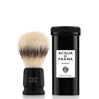 ACQUA DI PARMA Barbiere Black Travel Shaving Brush