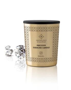 Amazing Space Precious Diamond Candle