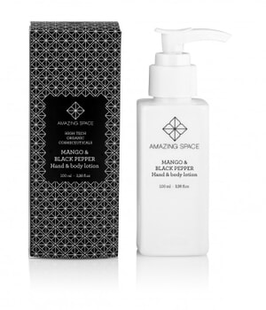 Amazing Space Mango & Black Pepper Hand & Body Lotion 100ml