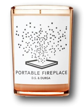 D. S. & DURGA Portable Fireplace Candle 200g