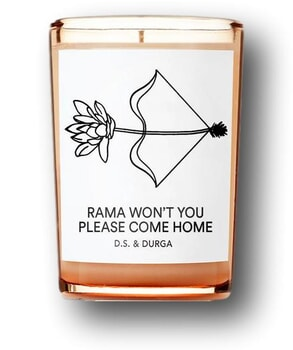 D. S. & DURGA Rama Won't You Please Come Home Candle 200g