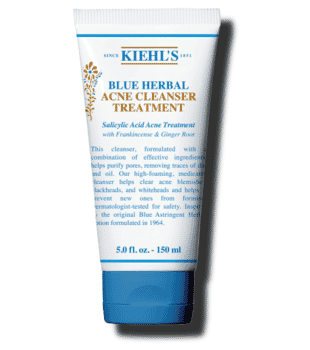 Kiehl's Blue Herbal Blemish Cleanser Treatment 150ml