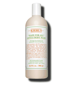 "Kiehl's ""Made for All"" Gentle Body Wash 500ml"