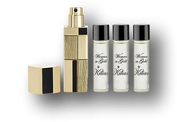 Kilian Woman In Gold Refillable Travel Set 30ml