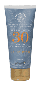 Rudolph Care Sun Body Lotion Shimmer SPF 30 100ml