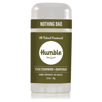Humble Deodorant Cedarwood & Grapefruit