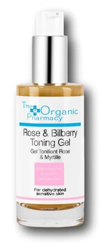 The Organic Pharmacy Rose & Bilberry Toning Gel 50ml